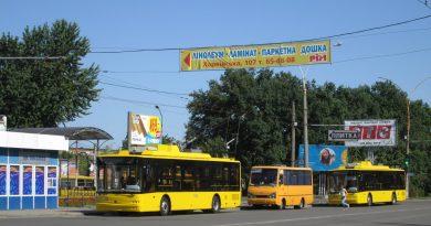 Троллейбусы Богдан 701 в Сумах