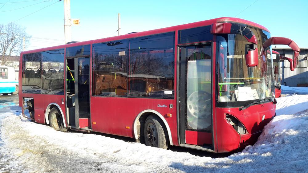 5 автобусов Руслан КП Электроавтотранс в Сумах уже не выходят на линии