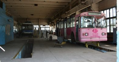 Ремонт троллейбуса ЗИУ в Сумах
