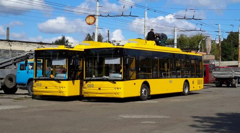 Троллейбусы Богдан Т70117