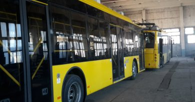 Троллейбусы Богдан Т70117 в ангаре