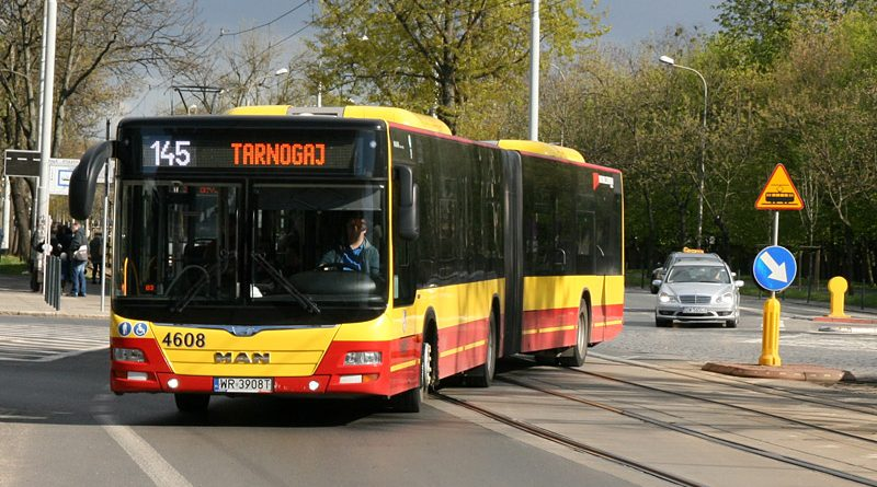 Автобус-гармошка MAN во Вроцлаве. Фото: Александр Мироненко
