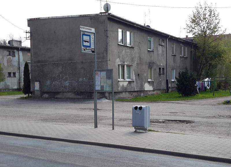 Остановка автобуса на окраине Вроцлава. Фото: Александр Мироненко