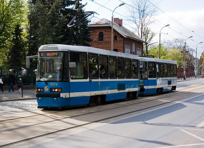 Наиболее распространенная модель трамвая во Вроцлаве. Фото: Александр Мироненко