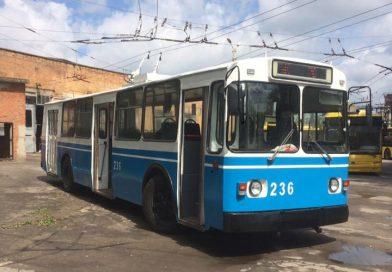 В Сумах сделали капитальный ремонт четвертому троллейбусу за четыре года