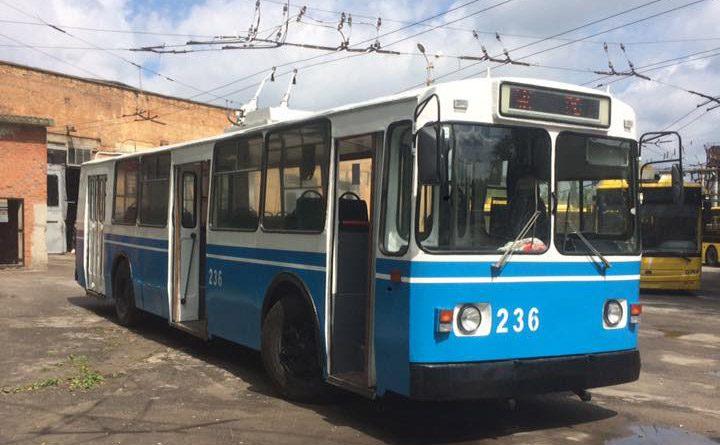 Троллейбус ЗИУ-9 №236, фото: Виталий Однорог