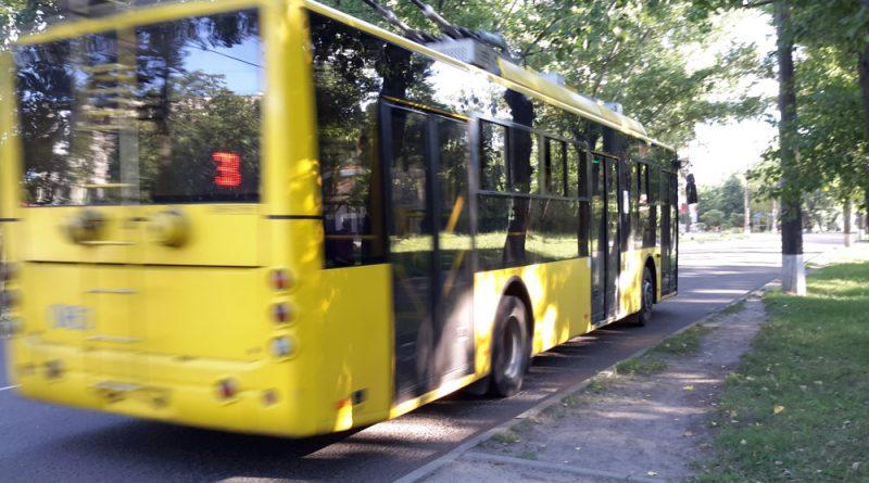 Троллейбус №3 в Сумах