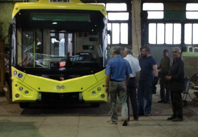 Сумы получили первый новый троллейбус за два года