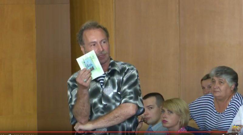Водитель троллейбуса Олег Нестеренко