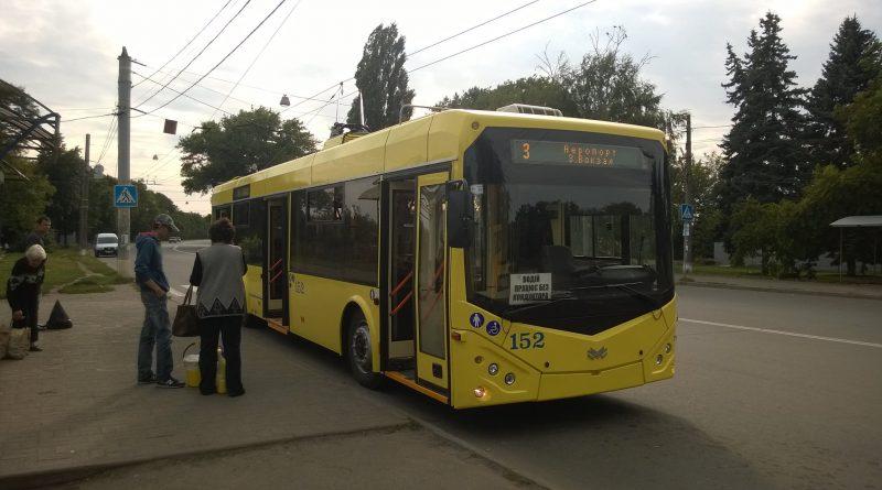 """Новый троллейбус """"БКМ-321"""" в Сумах"""