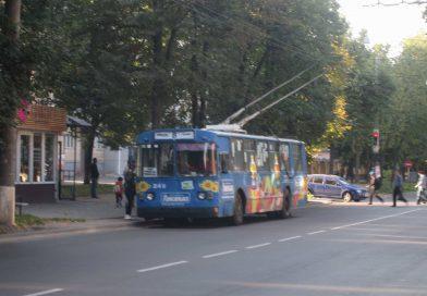 Сумчане требуют обеспечить полноценную работу троллейбуса №8