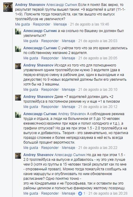 Александр Сытник о выпуске троллейбусов