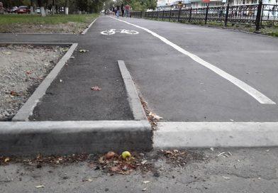 В Сумах начали строить велодорожки: что получат велосипедисты?