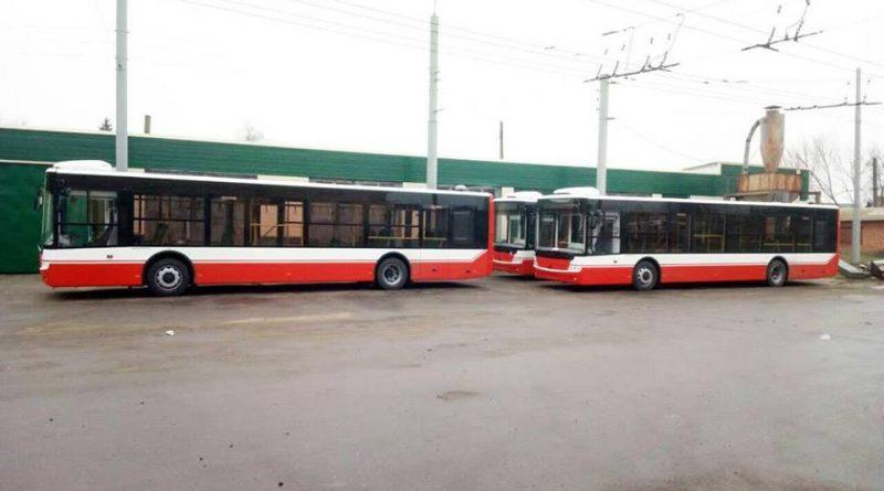 Большие автобусы в Сумах