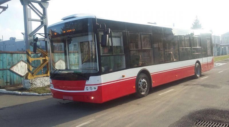 Большой автобус в Сумах