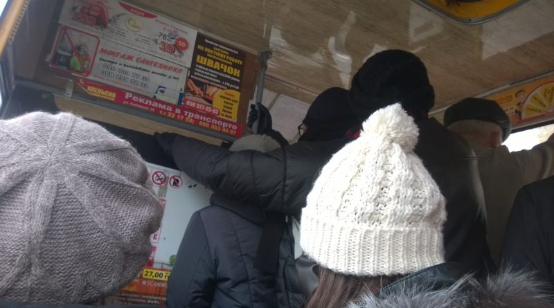 "Загрузка ""Руты"" на маршруте № 20 в межпик"