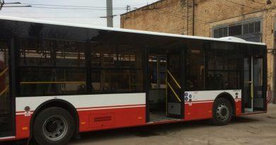 Первый автобус Богдан А701 в Сумах