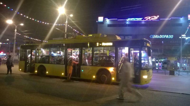 "Троллейбус ""Богдан"" в Сумах"