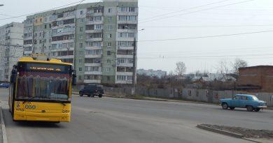 Троллейбус на ул. Прокофьева