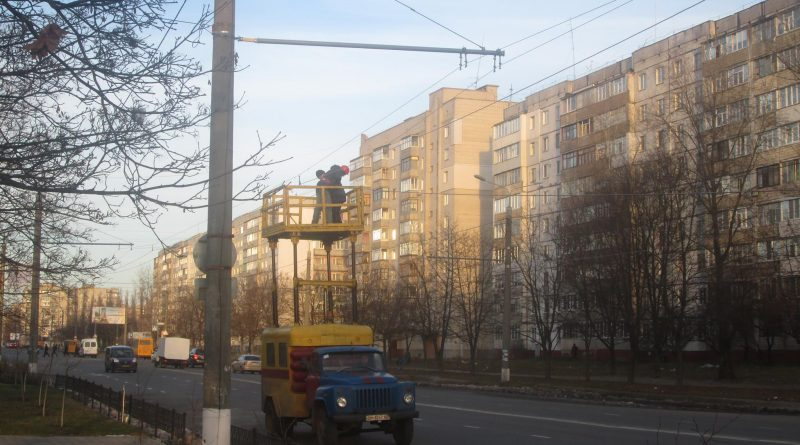 Троллейбусная линия по ул. Прокофьева
