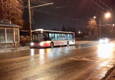 Большие автобусы исчезли с улиц города Сумы