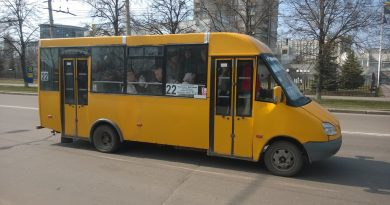 """Рута"" на маршруте №22 в межпик"