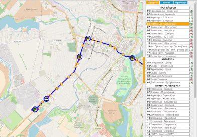 Сумчане могут остаться без онлайн-мониторинга половины коммунального транспорта