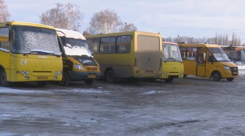 """Простаивающие средние автобусы на базе ЧП """"Согор"""""""