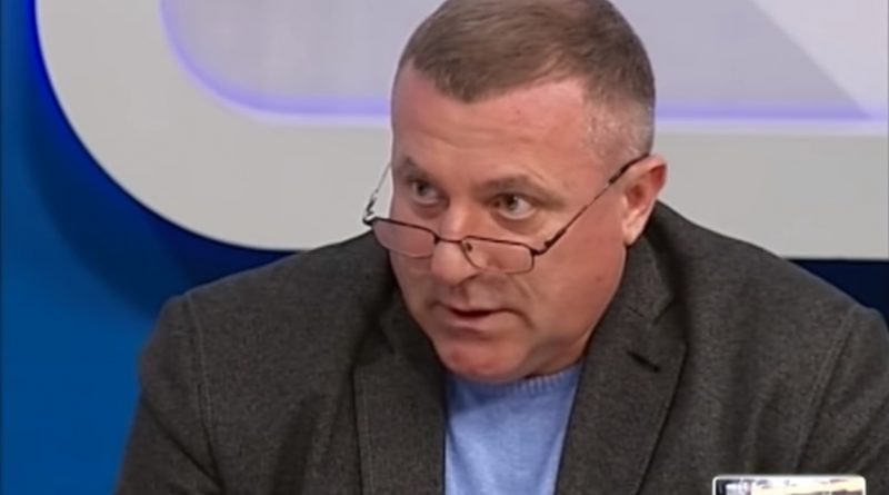 Сергей Яковенко в студии телеканала UA:Суми
