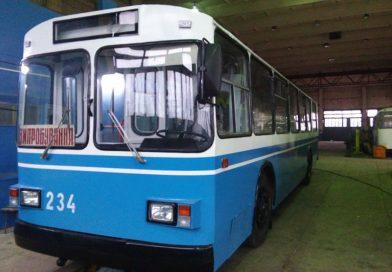 В мэрии Сум обнародовали планы по капремонту троллейбусов в 2018 году