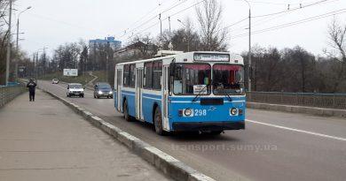 Троллейбус ЗИУ-9 на маршруте №15. Фото: Александр Мироненко