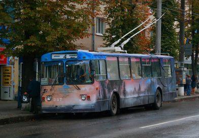 Капремонты троллейбусов в Сумах: старое на свалку, новое — на ремонт