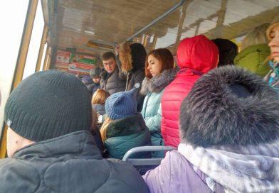 Суровые будни маршрута №20 в Сумах: перегрузы, остановка рейса и лечение новокаином