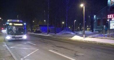 Газобус на маршруте №65 в Таллине