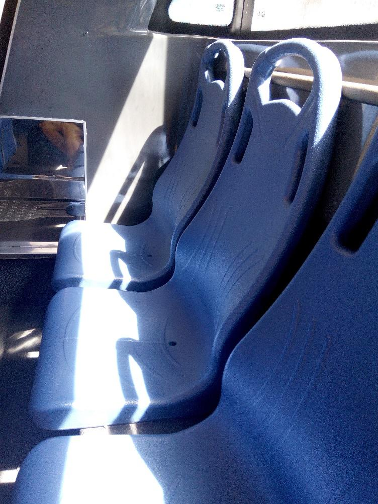 Салон коммерческого автобуса