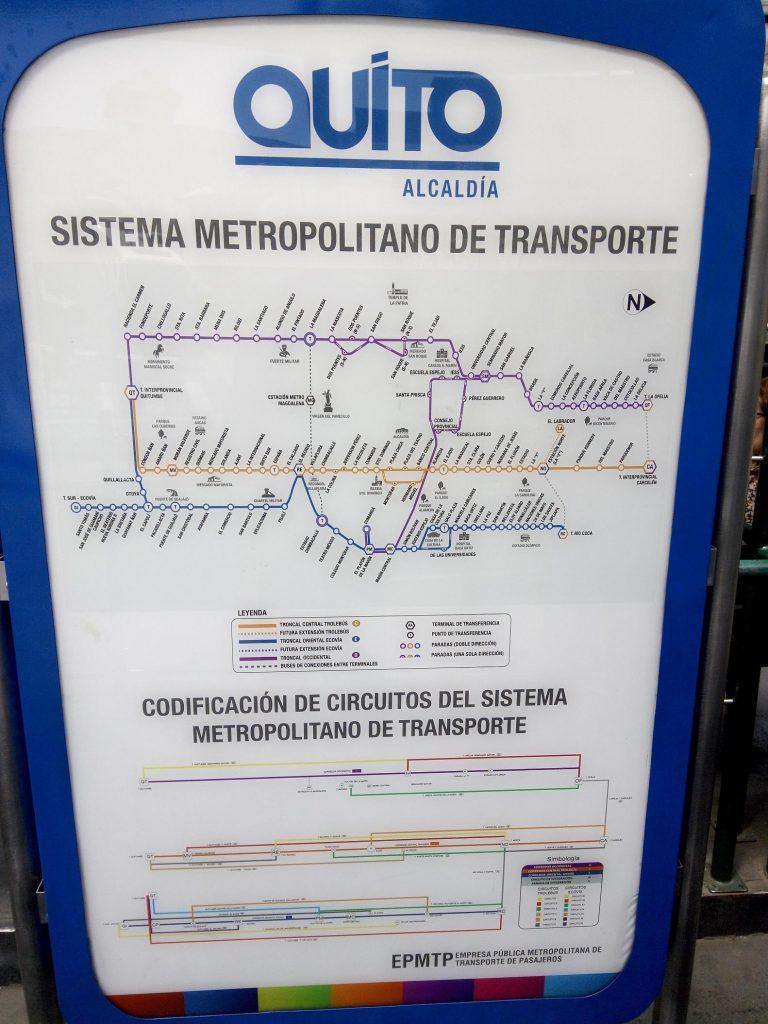 "Схема маршрутов системы ""Метро-бас"""