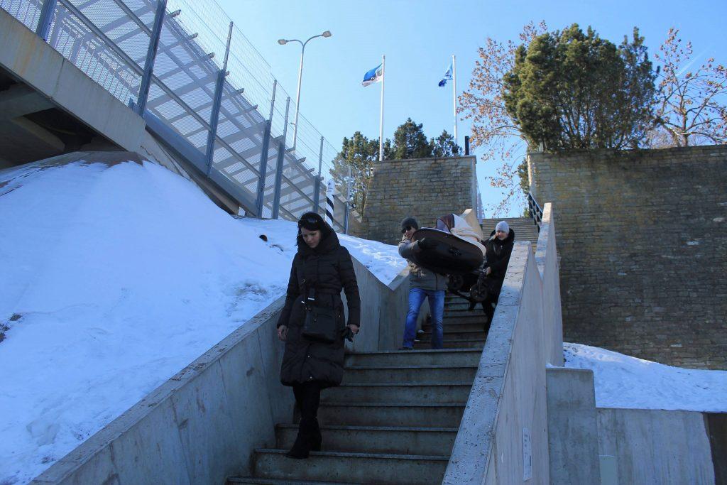 Спуск по лестнице Хаана