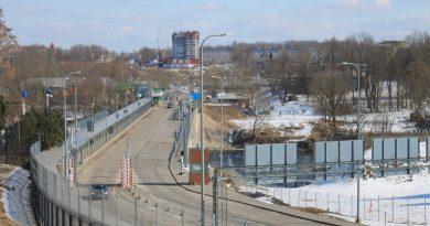 Мост Дружбы на эстонско-российской границе