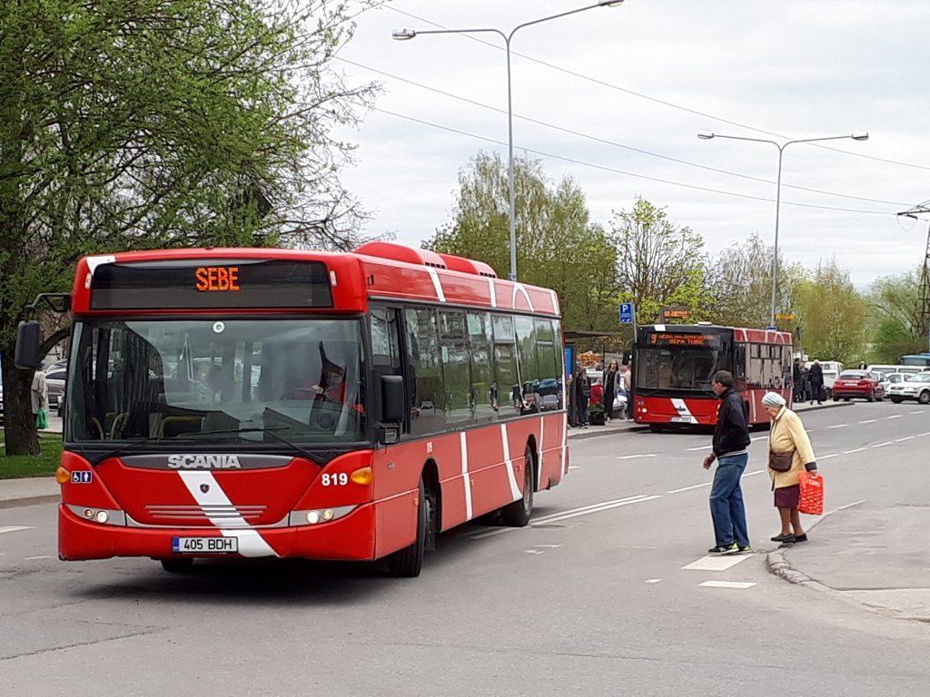 Городские автобусы в Тарту